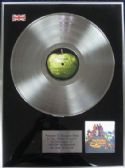 The Beatles - LP Platinum Disc - Yellow Submarine